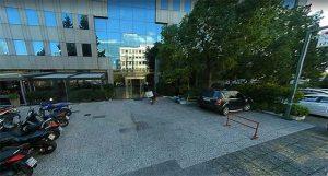 είσοδος γραφείου Άννας Χατζηδημητρίου - 2ός όροφος